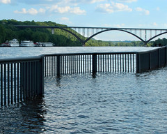 Mississippi River 2014 (The Adventures of Kristin & Adam) Tags: river mississippi flood mississippiriver mississippiflooded mississippi2014