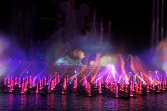 Snow White in World of Color Celebrate at DCA (GMLSKIS) Tags: california disney amusementpark woc anaheim snowwhite dca californiaadventure disneycaliforniaadventure worldofcolor