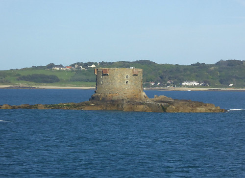 Brehon Tower, Little Russell, Guernsey, Channel Islands 12 May 2015