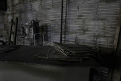 Newspapers (kyle.moeglin) Tags: cannon basement basements dark grey newspapers dusty cellar old rebel t6