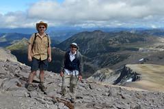 Mark & Dad on Third Burroughs (Sotosoroto) Tags: dayhike hiking mtrainier burroughsmountain washington cascades mountains