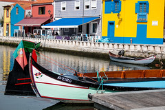 Aveiro (oli.petas) Tags: aveiro veniceofportugal canal colourfulhouses colorfulhouses canalboat