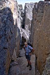 Knoll on Cathedral Peak 4 (@GilAegerter / klahini.com) Tags: nikon nikkor mountains climbing scrambling backpacking 2550mmf4ais cathedralpeak manualfocus manuallens