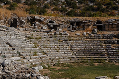 2016-10-09_Canon_038350 (l0pht) Tags: 2016 demre october turkey amphiteater amphitheater anatolia ancient antic antique architectural architecture buildings city clear cliff concepts cultures east embossment feature fitness georgia kolizeum kolizey lycia lycian lythian mask mediterranean middle monuments myra people performance rome sky stone summer teater theater theatrical times tomb tower travel way
