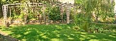 Dales Garden Pergola (toany) Tags: pergola panorama