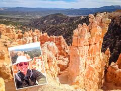 Obligatory Selfie (Serendigity) Tags: brycecanyonnationalpark selfie outdoors usa unitedstates landscape utah nature