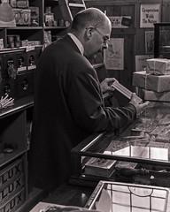 Product check (Nigel Gresley) Tags: beamish shopkeeper bygone timeless edwardian