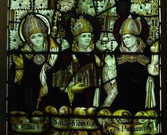 St Aidan, St Wilfrid & St Paulinus (Aidan McRae Thomson) Tags: york church allsaintspavement yorkshire stainedglass window victorian kempe
