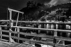 Catalina 2016-54 (rmc sutton) Tags: catalina harbor pier nikon night nighttime tripod le blackandwhite bw monochrome lights