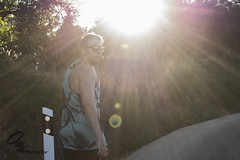 Summer traces (Ortiz_Photography) Tags: nikon 7200 nikond7200 nikonphotography street photography photographyoftheday picoftheday streetphotography sport aggressive inline nikonlovers roller rollers aggresiverollersl dyedhair purplehair dyed hair altmodel model cute beautiful girl redlips dress