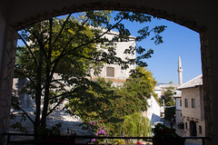 View from the Pansion (tiny red warrior) Tags: mostar bosniaandherzegovina europe travel