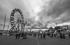Ominous day at the Washington State Fair (Xephyria) Tags: 714mm zd omd olympus em10 clouds statefair