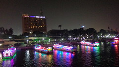 Colourful Nights on the Nile (Rckr88) Tags: cairo egypt colourful nights nile colourfulnightsonthenile river rivers nileriver africa travel boats boat ships ship travelling lights light