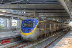 IMG_0474_476  HDR (vicjuan) Tags: 20161016 taiwan   taichung fongyuan  railway geotagged geo:lat=2425532 geo:lon=120724043  fongyuanstation hdr tonemapping  train