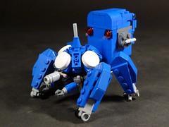 Tachikoma (obscurance) Tags: lego ghostintheshell standalonecomplex tachikoma thinkingtank tank moc afol mecha zio