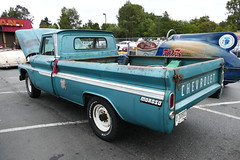 1966 chevrolet C20 (bballchico) Tags: 1966 chevrolet c20 pickuptruck ralphkennedy ratbastardscarshow carshow 60s 206 washingtonstate