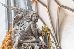 Angel (Jutta M. Jenning) Tags: putte putten fresken figur figuren goerlitz spiegel architektur betrachten anschauen sehen begutachten kunst engel engelsfigur peterskirche sanktpeterundpaulkirche