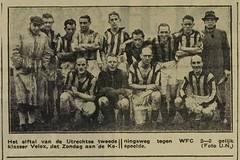 Velox (1947 - 1948) (poedievanlaar) Tags: velox utrecht fc wfc koningsweg utrechts nieuwsblad 1947 1948 wormerveer fortuna tweede klasse voetbal football elftal