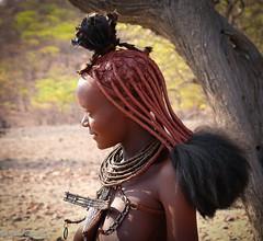 Sourire himbas (Marmad31) Tags: namibie tribu himbas
