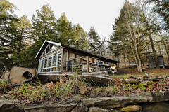 Lads weekend, Harp Lake, Muskoka (PJMixer) Tags: friends muskoka nikon cottage fall landscape trees