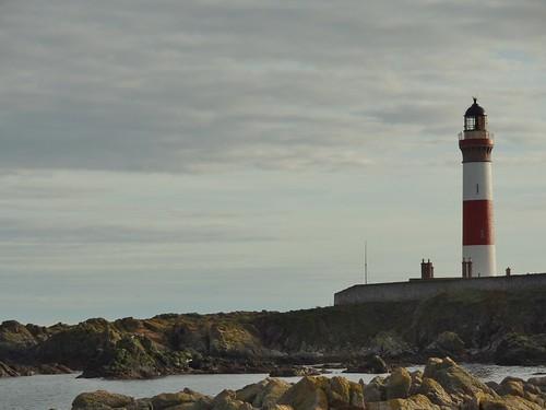 Buchan Ness Lighthouse at Boddam