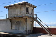 Disused (Michael@H) Tags: disused signalbox muizenberg falsebay westerncape capetown southafrica southernsuburbsline