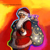 NC Wyeth homage santa painting by Howie Green (Howie Green) Tags: wyeth homage santa painting