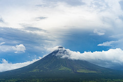 The Mighty Mt. Mayon (Hendraxu) Tags: sky cloud mayon mount mountain volcano albay legazpi bicol morning clouds cloudy philippines asia landscape travel travelling traveldestination