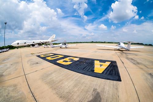 Phitsanulok airport Thailand apron (aircraft parking area)