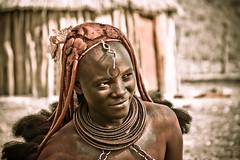 Himba (CartOrange Suisse) Tags: himba ovahimba gruppoetnico 12000persone kaokoland regionedelkunene namibia pastorinomadi ocraegrasso opuwo