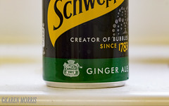 #32 Dry (116 Pictures In 2016) (kazmorris) Tags: 116picturesin2016 dry schweppes ginger ale drink can liquid fizzy