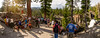 4th of July crowds at Rainbow Falls (speedcenter2001) Tags: anseladamswilderness sierranevada sierra sierraphile highsierra california mountains wilderness hiking outdoor backpacking backcountry