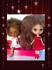 Flickr Advent Group & December Blythe-a-Day#16: Curl: Girls with Curls