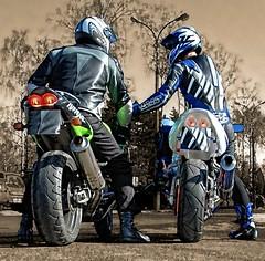 2 driver (driver Photographer) Tags:   aprilia cagiva honda kawasaki husqvarna ktm simson suzuki yamaha ducati daytona buell motoguzzi triumph bmv driver motorcycle leathers dainese
