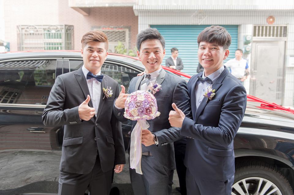 台南婚攝 婚禮紀錄 情定婚宴城堡 C & M 020