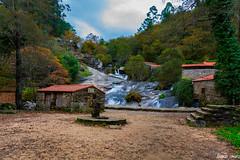 Cascada del Rio Barosa (NandoTanaka) Tags: paisaje naturaleza cascada barosa rio parque natural galicia pontevedra espaa muios molinos nando tanaka spain