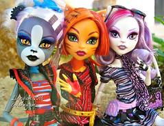 (Linayum) Tags: meowlody toralei catrinedemew mh monster monsterhigh mattel doll dolls mueca muecas toys juguetes linayum