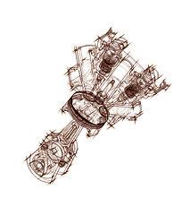 Head Section (Dawn Treader Performance) Tags: artwork engine diagram patrick morgan