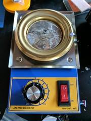 Solder pot (bigjoshlevine) Tags: electronics