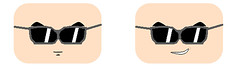glasses great saiyaman face decal (teamfourstud) Tags: great saiyaman dragon ball z dbz dragonball dragonballz saiyan gohan ssj super buu saga lego custom decal decals cartoon illustration text man