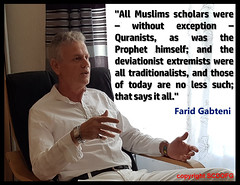 Farid-Gabteni-citation9-ang (SCDOFG) Tags: faridgabteni muslimscholars prophetmuhammad originalislâm tradionalists qurân thesunrisesinthewest