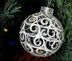 Swirly Whirly (Cindy's Here) Tags: swirly whirly ornament decoration holiday christmas canon macro seasonal sc1216