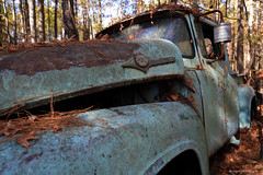 Old Car City (dpsager) Tags: dpsagerphotography ford ga georgia junk oldcarcity truck junkyard