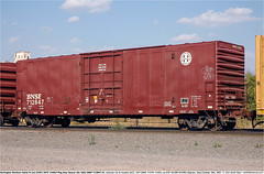 BNSF712847GB_SaginawTX_181005 (Catcliffe Demon) Tags: bnsf atsf railways bx169 wotw freightcars wagonsontheweb burlingtonnorthernsantafe atchisontopekasantafe boxcar acf railroading americancarfoundry