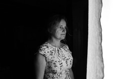 Thank you. - Mom (Marek Kalich) Tags: mom son mother relationship bond blackandwhite moments love family lonely strong feel life happy sad closer joy portrait village feels time deep documentary story together