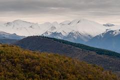 Cime innevate (luca_pictures) Tags: marche italy sibillini montagne contrafforti neve picchi inverno freddo cielo mubialte tramonto outdoor