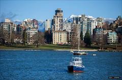Vancouver Spirit (Clayton Perry Photoworks) Tags: vancouver bc canada fall autumn explorebc explorecanada outdoor snow mountains northshore skyline boat winter falsecreekferries