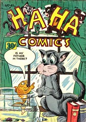 Ha Ha 41 (Michael Vance1) Tags: art artist anthology comics comicbooks cartoonist funnyanimals fantasy funny humor goldenage