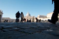San Pietro (Akijos) Tags: nikon d7000 tokina 1116mmf28 11mm atx116 sanpietro roma rome sunday cristianesimo cattolicesimo pace peace bokeh