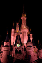 IMG_5696 (onnawufei) Tags: castle night disney disneyworld wdw waltdisneyworld magickingdom cinderellascastle